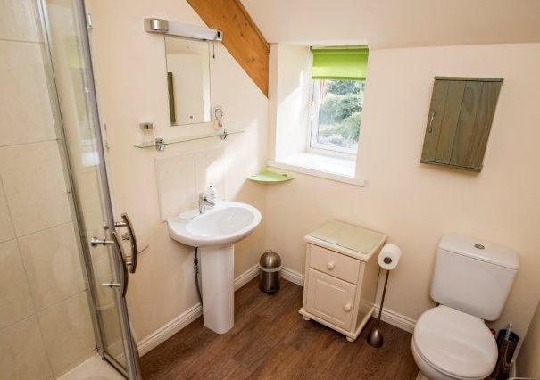 Bathroom in the Harvest Holiday Cottage