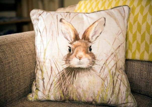 Rabbit cushion