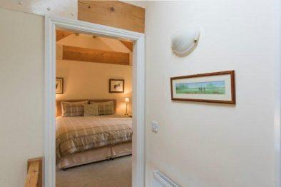 A bedroom at Lavender Cottage