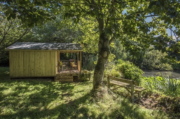 Summerhouse at Ballacamaish self catering farmstay cottages