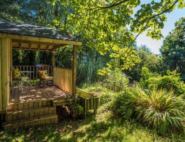 The summer house at Ballacamaish