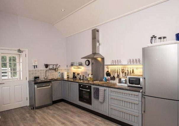 Kitchen in Sunset View holiday cottage