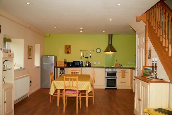 The Kitchen at Harvest Cottage